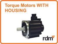 torque motors with housing