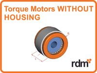 torque motors without housing