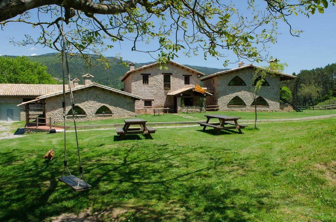 Casa rural masies el prat en sant jaume de frontany barcelona - Casa rural sant jaume de frontanya ...