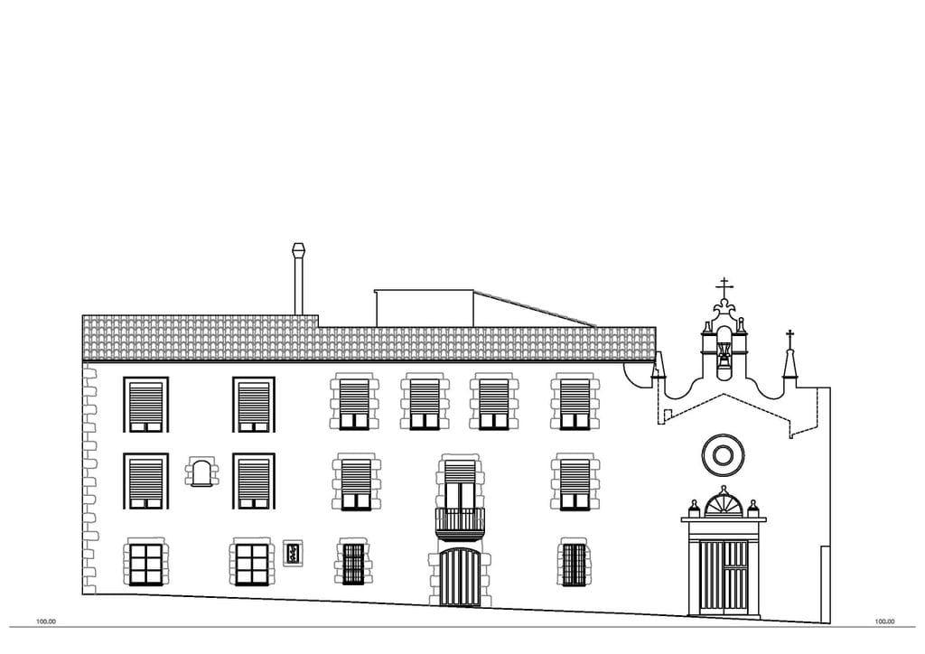 Levantamiento de planos de fachadas despatx d for Planos de fachadas