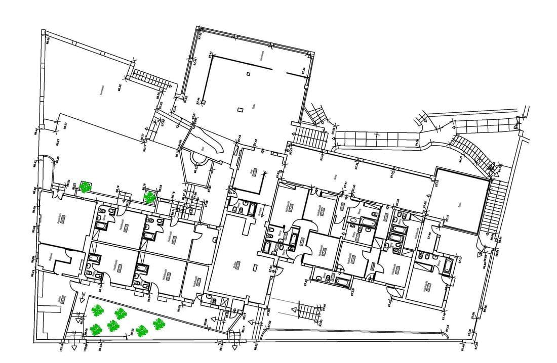 Levantamiento de planos de edificios existentes despatx for Planos de arquitectura