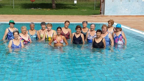 Aiguagim piscina Maià de Montcal estiu 2015