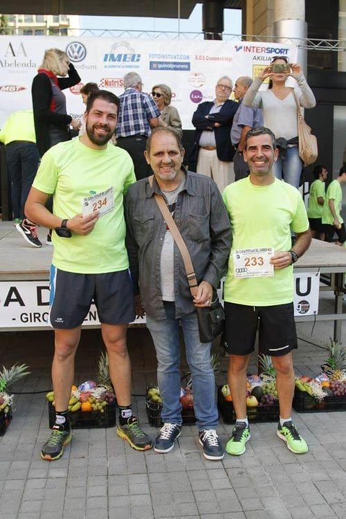 Dos dels integrants de l'equip de IMEC, l'Enric i en Toni, juntament amb un dels nostres gerents, en Carlos