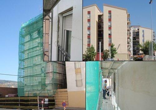 Mejora del aislamiento en fachadas