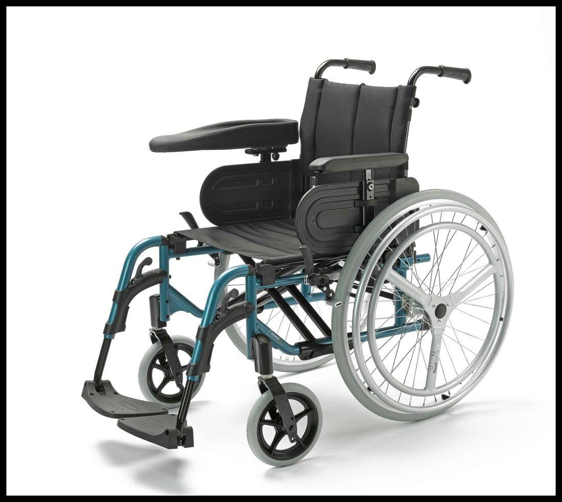 Silla de ruedas manual Action 4NG doble aro