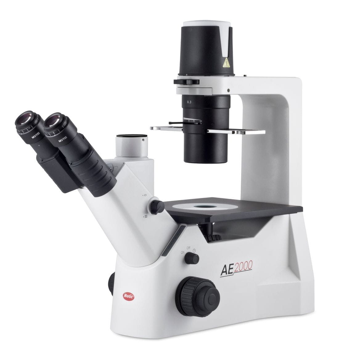 Microscopios trinoculares