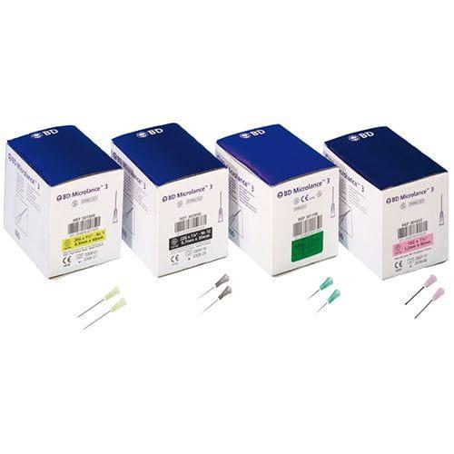 Agujas hipodérmicas microlance 3- BD