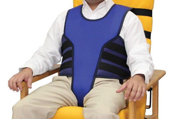 Chaleco con perineal para silla y sillon