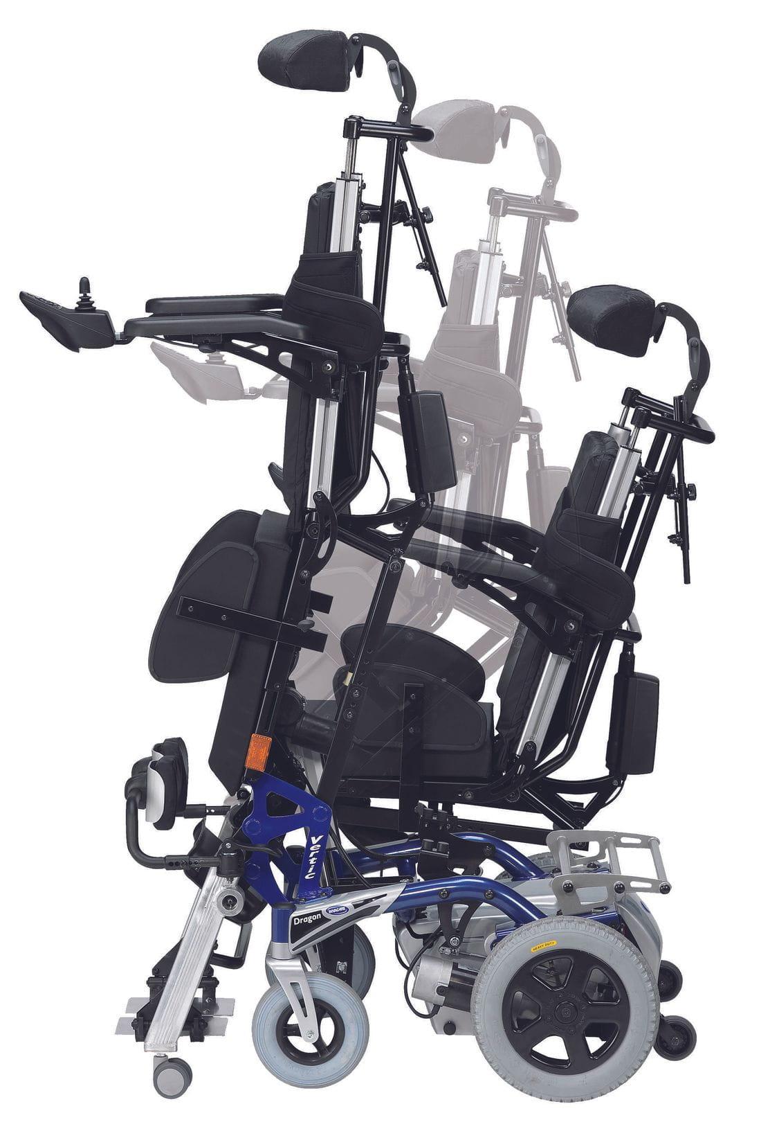 Cadira de rodes electrònica DRAGON VERTICALIZER