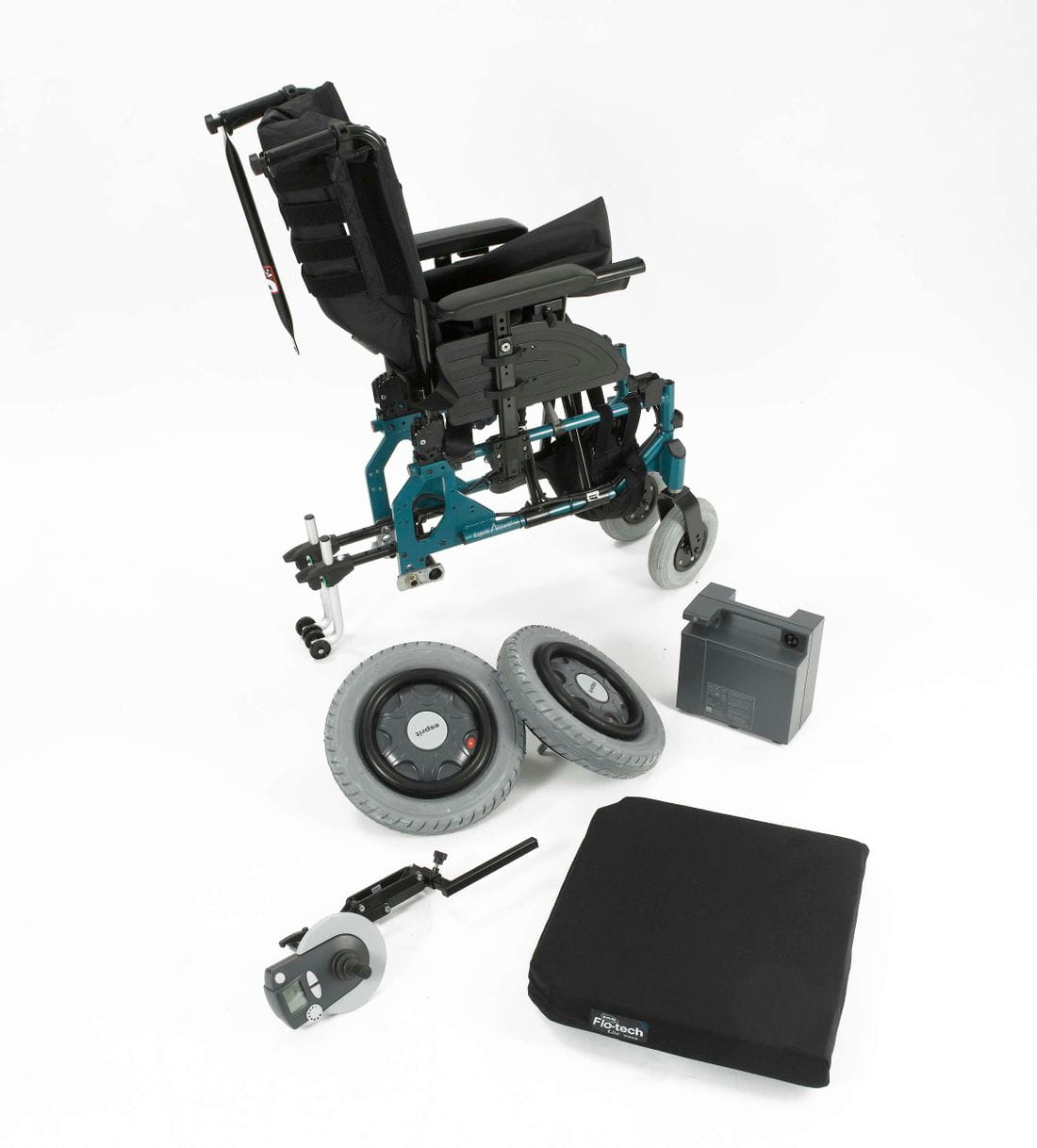 Cadira de rodes electrònica ESPRIT ACTION 4NG_desmontable
