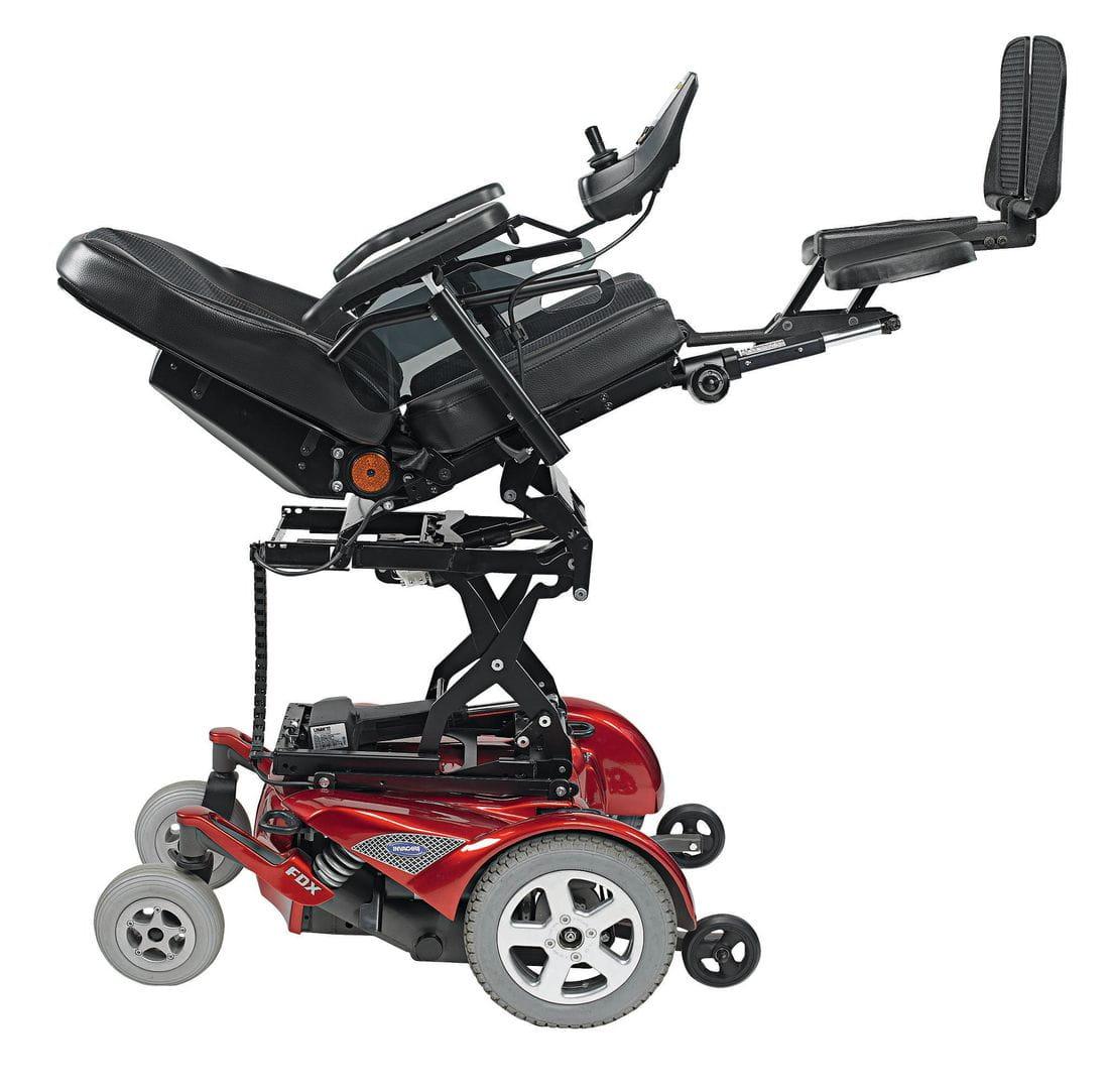 Cadira de rodes electrònica FDX_OF04