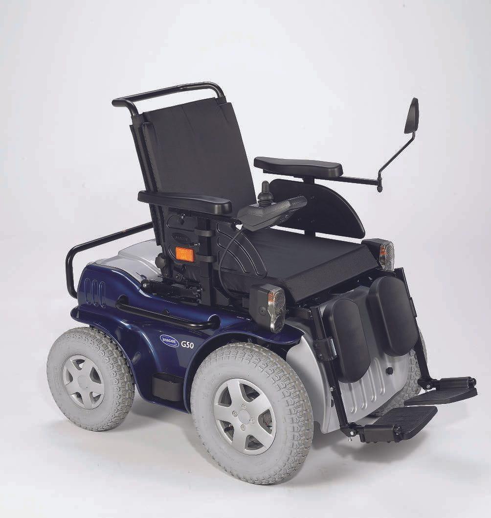 Silla de ruedas electrónica G50 CV03