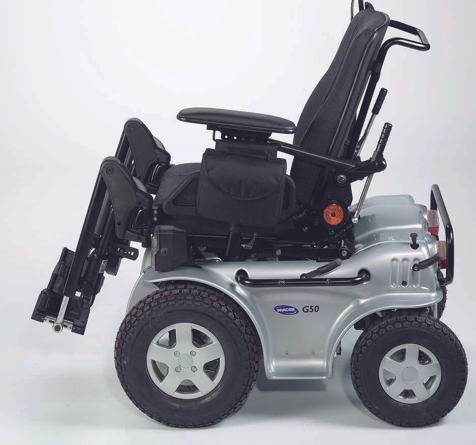Silla de ruedas electrónica G50