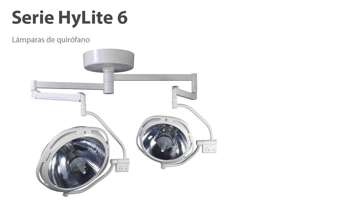 Lámparas quirúrgicas Serie Hylite 6