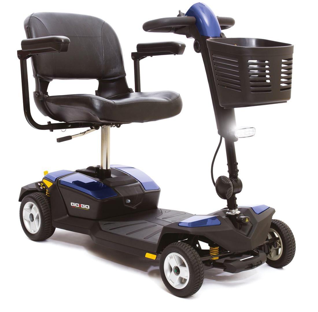 Scooter amb suspensió gogo lx