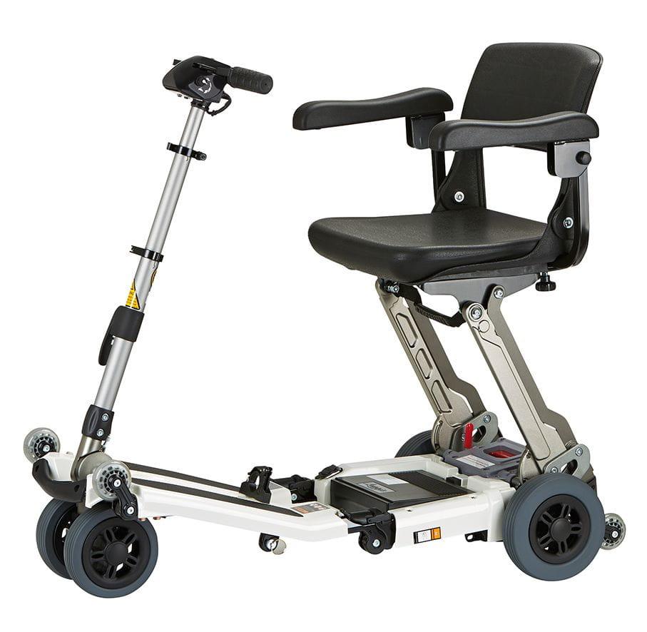 Scooter plegable de aluminio luggie