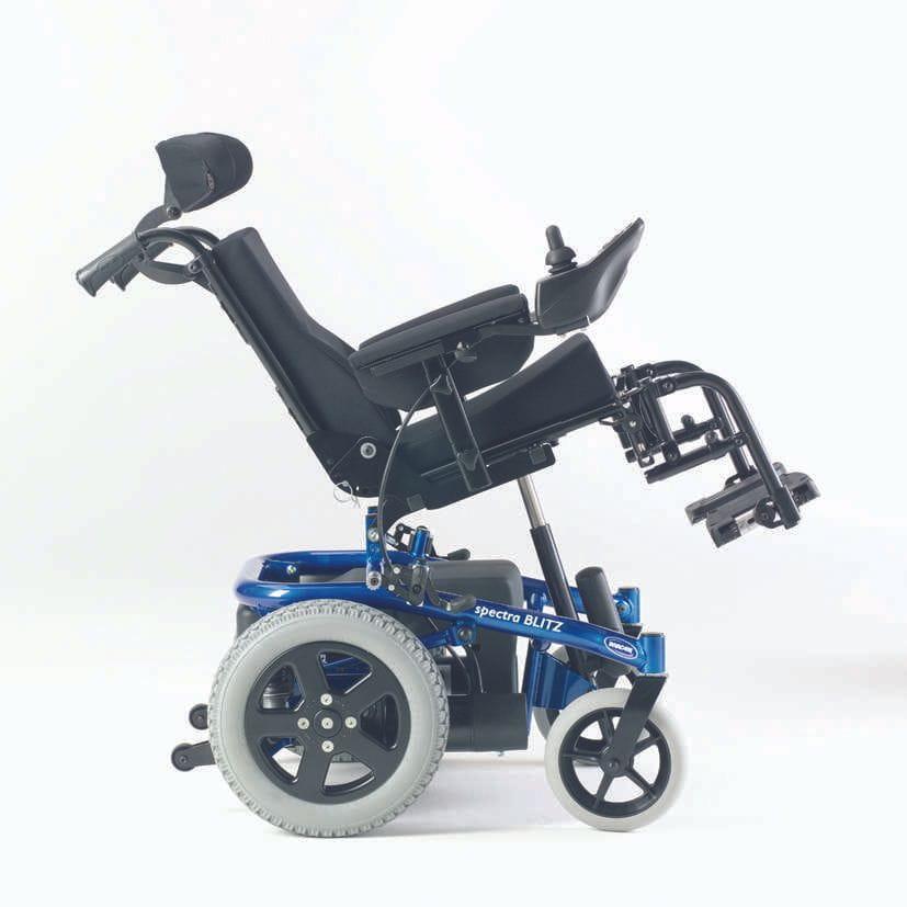 Silla de ruedas de niños SPECTRA BLITZ_Basculada
