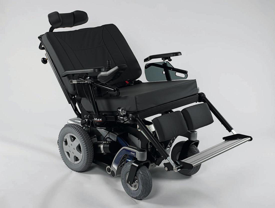 Silla de ruedas electrónica STORM4 MAX_CV02