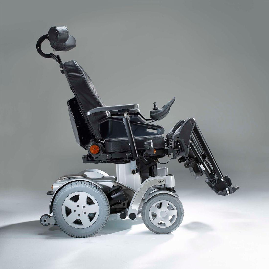 Silla de ruedas electrónica STORM4_MP01