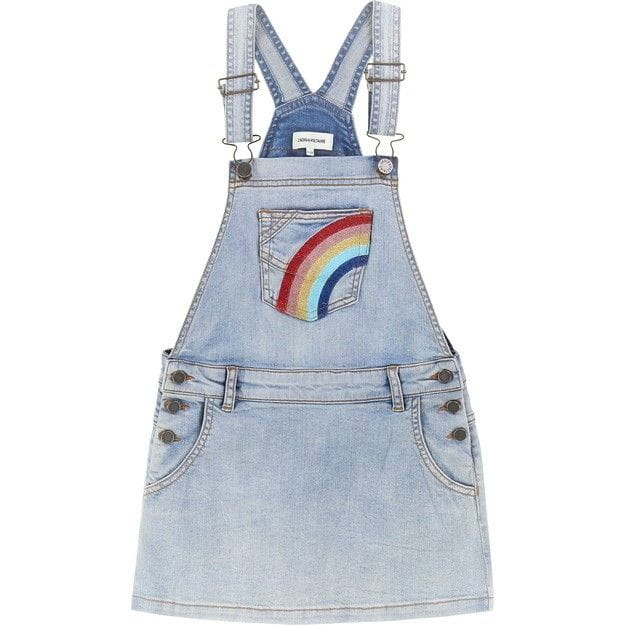 Dress Jeans with Rainbow