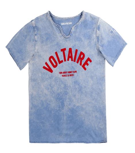 Samarreta blava nen Zadig & Voltaire