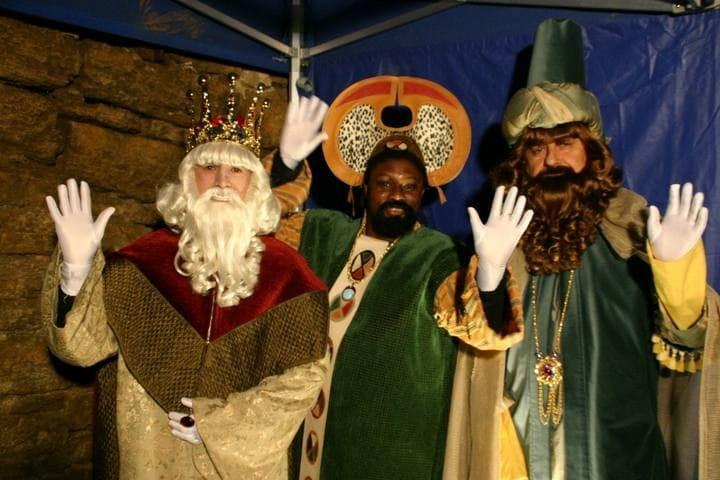 Els tres Reis Mags a Banyoles