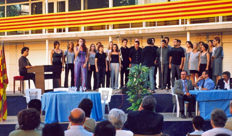 Premiere of the theme at the Club Natació Banyoles