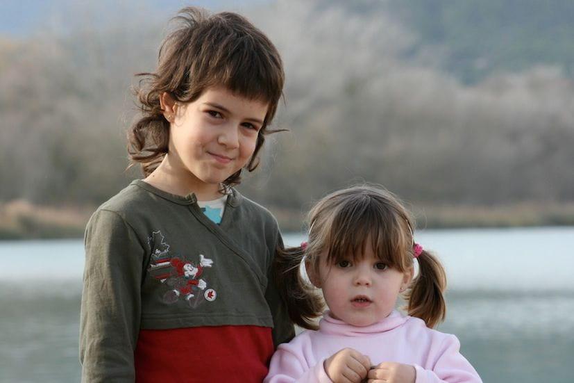 Aina Viciana y Iris Cullell en aquella época, año 2007