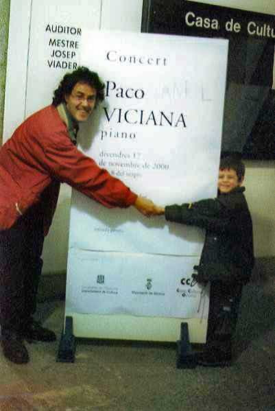 Compartiendo cartel con Aniol Viciana