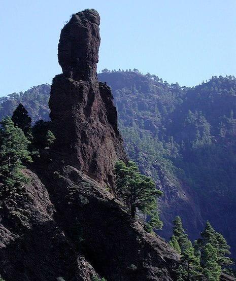 El monolit Idafe a La Palma