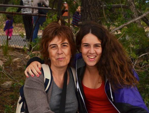 Mis mujeres: Marta y Aina