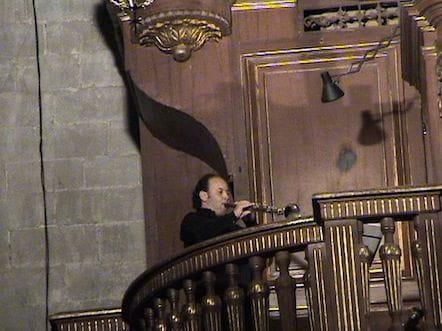 Jordi Molina el día del estreno
