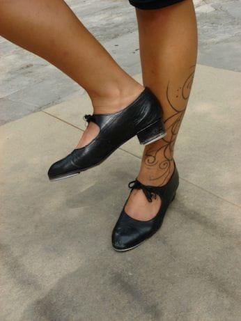 Los zapatos de Alba Carretero