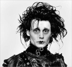 Johnny Depp (Edward Scissorhands)