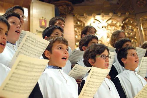 The choir of Montserrat