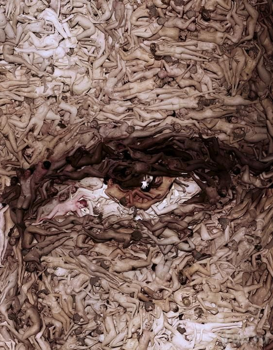 Obra d'Spencer Tunick