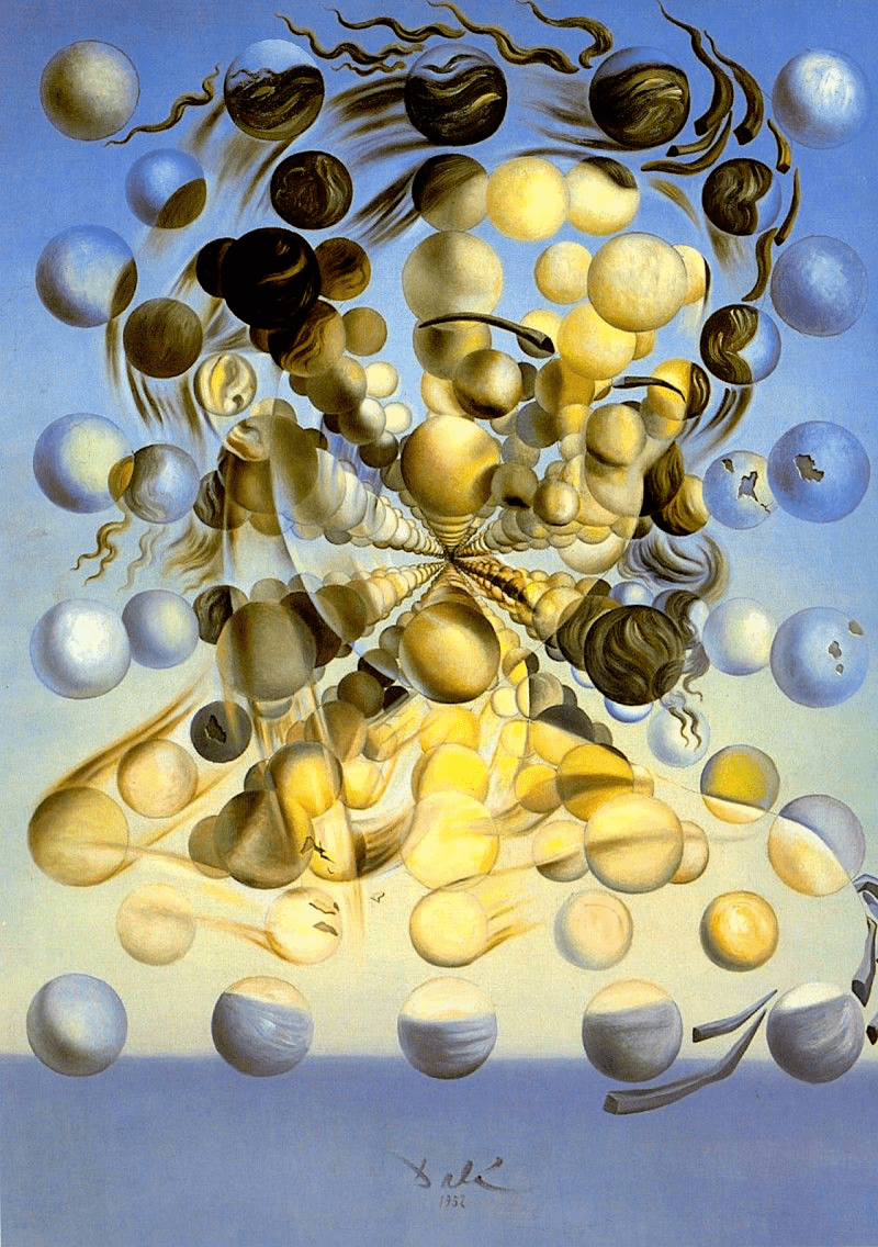 1 - GALATEA DE LES ESFERES (Salvador Dalí - 1952)