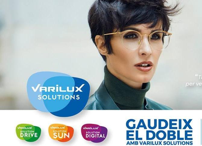 4dcf4d8af8 Por el precio de unas lentes Varilux, te llevas dos pares de lentes  progresivas: las Varilux de uso cotidiano y las Varilux Solution que más se  adapten a ...