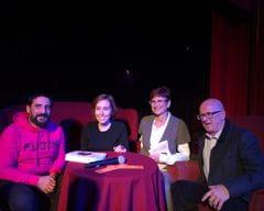 Tanit Tubau, Enric Bosch, Lourdes Díez y Álex Ruiz de ACCU Catalunya