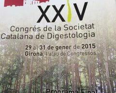 XXIV Congreso de la Societat Catalana de Digestologia 2015