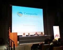 Jornada CCPC Girona 2014. Participación de Ángeles Roca de ACCU Catalunya.