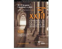 XXIII Congreso de la Societat Catalana de Digestologia 2014
