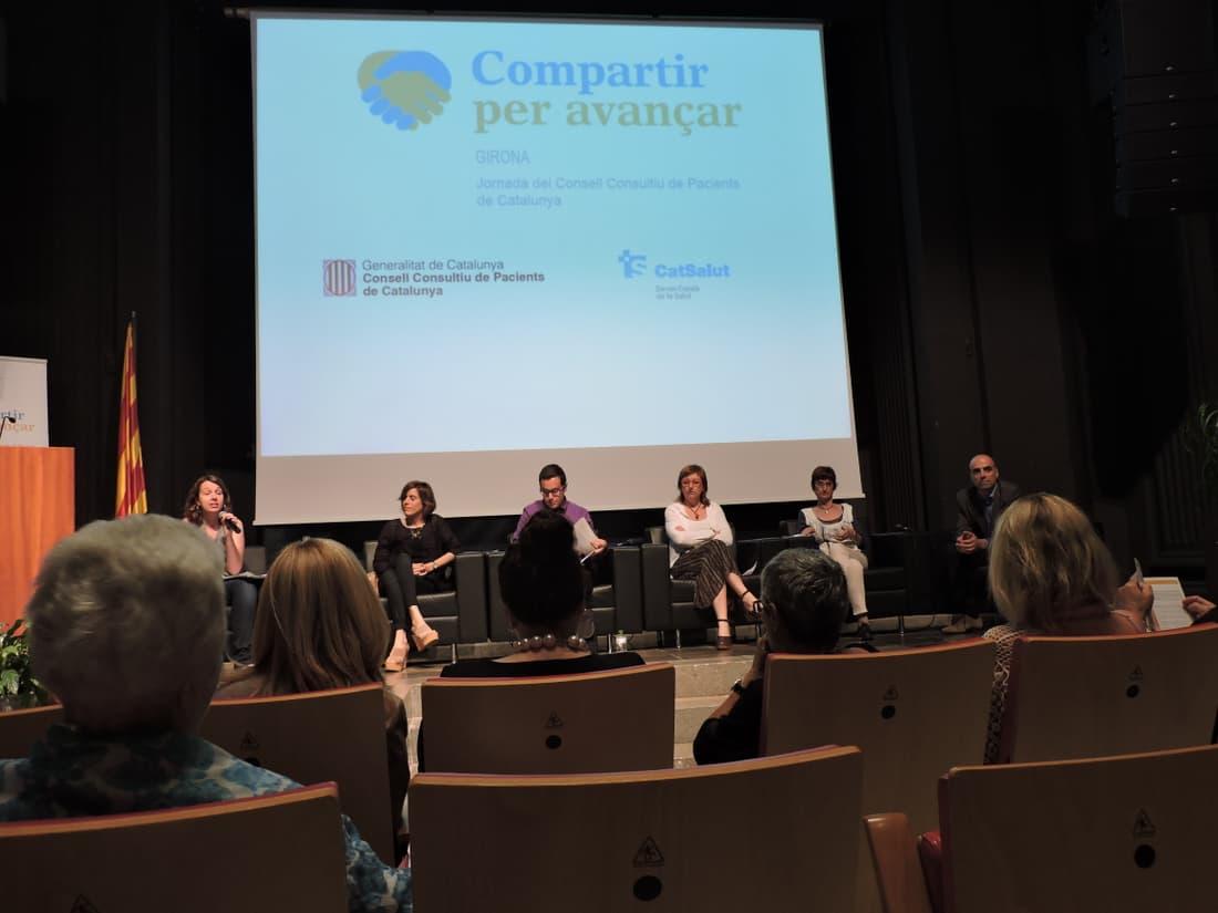 Jornada CCPC Girona 2015. Participación de L. Díez de ACCU Catalunya