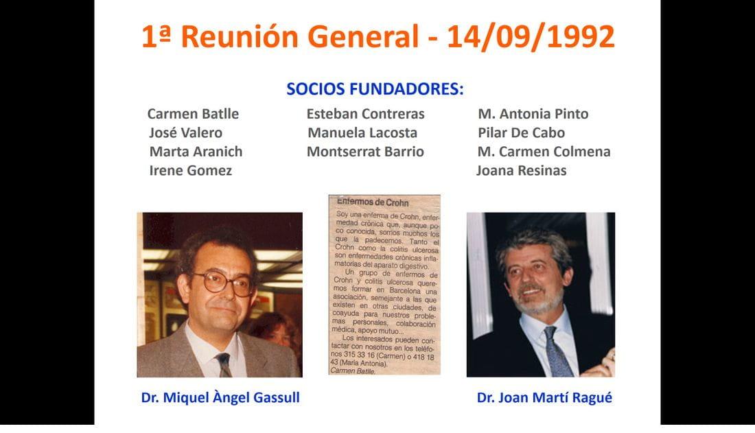 1a Reunió General  - 14/09/1992