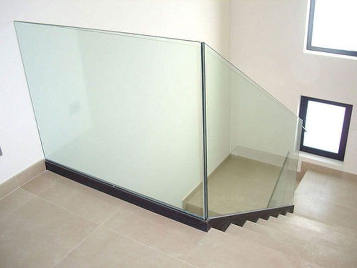 Barandillas para escaleras barandillas para escaleras - Baranda de cristal ...
