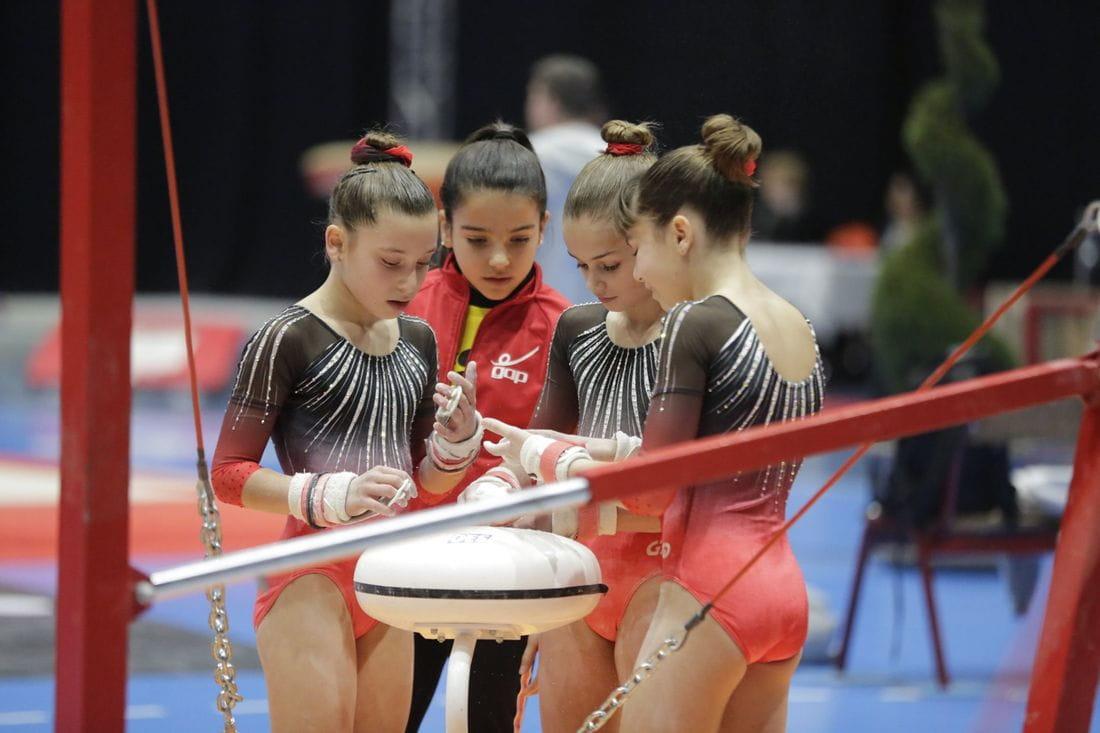 *Foto d'una part de l'equip de Vo en la competició a Nimes que el GAP va participar al mes de gener