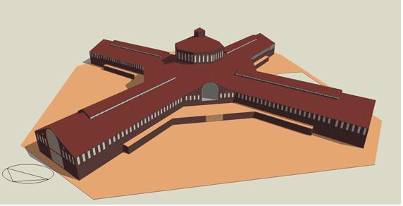 Modelització 3D de l'edifici I
