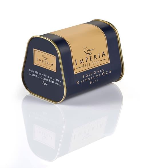 Imperia foie gras, bloc natural de oca