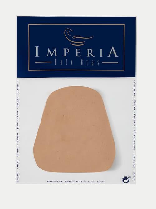 Imperia foie gras, trancha bloc de oca trufadoImperia foie gras, trancha bloc de oca natural