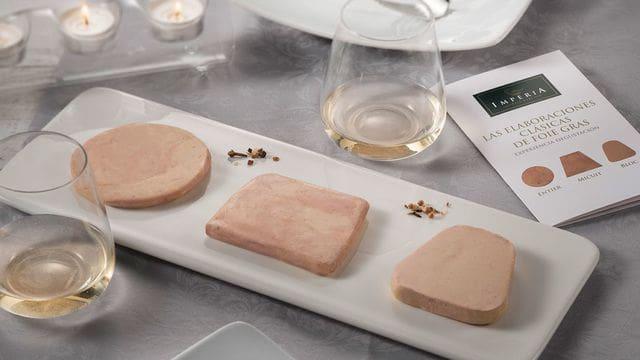 Las tres elaboraciones clásicas de Foie gras